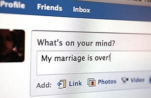 facebook divorce