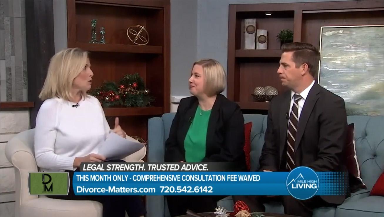 Divorce Matters on Denver7's Mile High Living 12.12.19